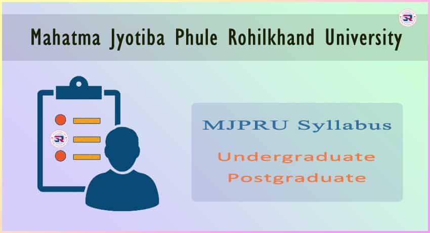 MJPRU Syllabus