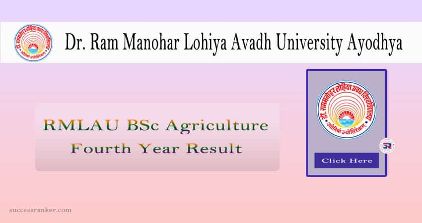 RMLAU BSc Agriculture Fourth Year Result